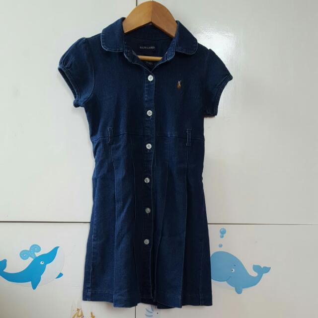*PRELOVED* Ralph Lauren Maong Dress
