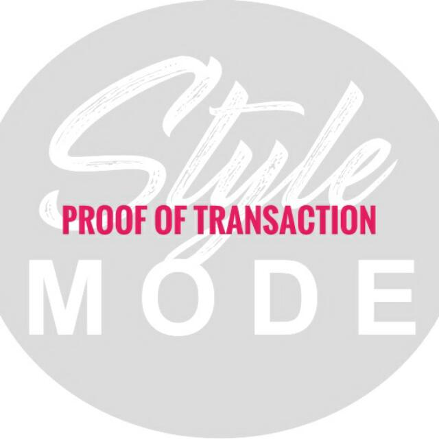 PROOF OF TRANSACTION