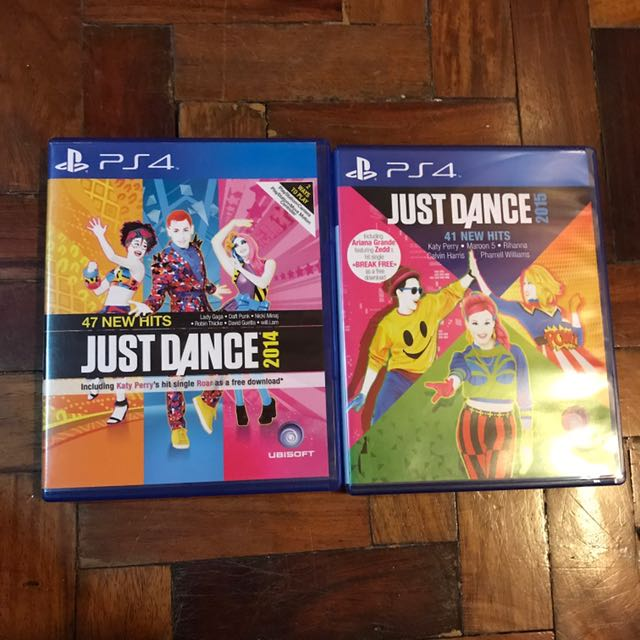 PS4 CDs Just dance 2014 And 2015
