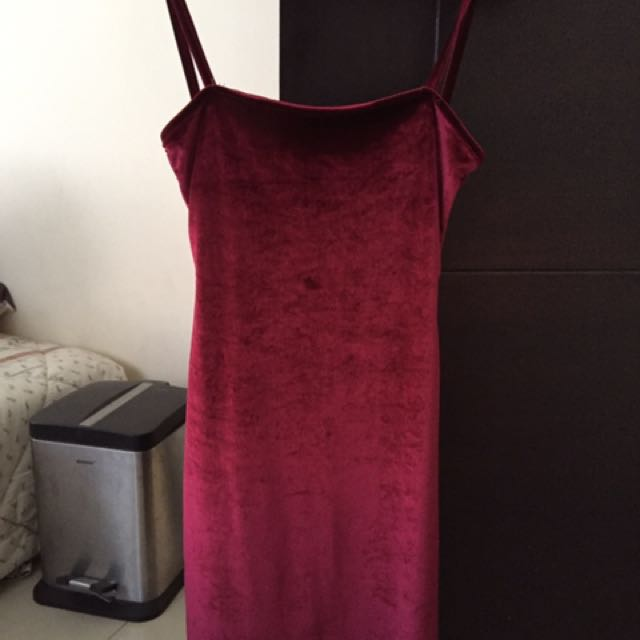 Pull&Bear Red Dress