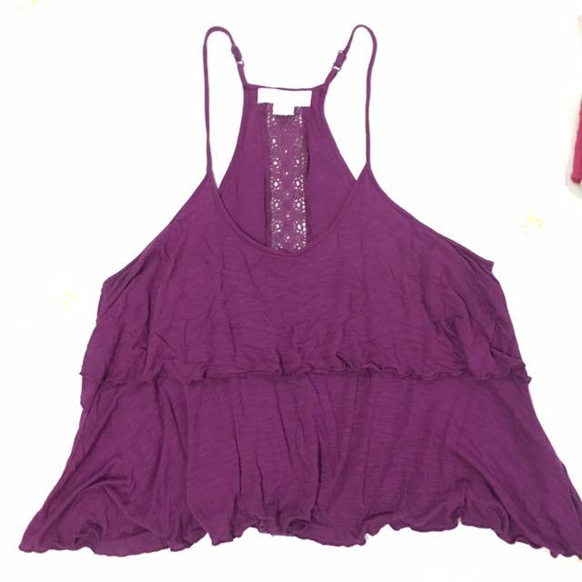 Purple Baggy Top