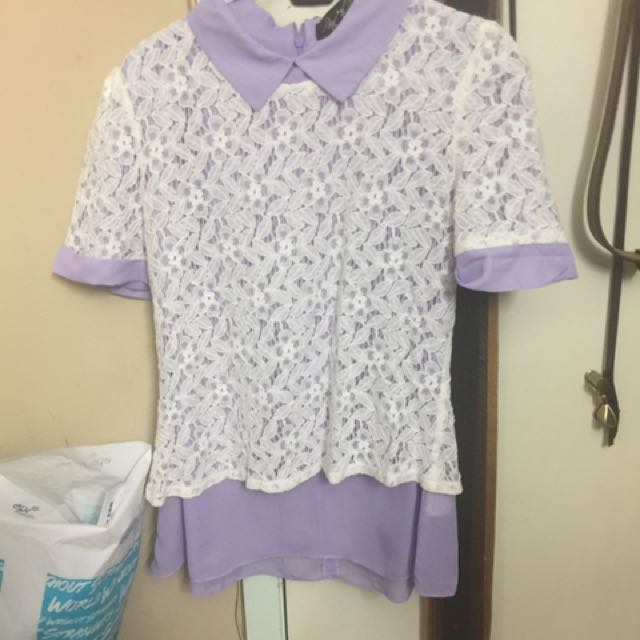 Purple Peter Pan Shirt