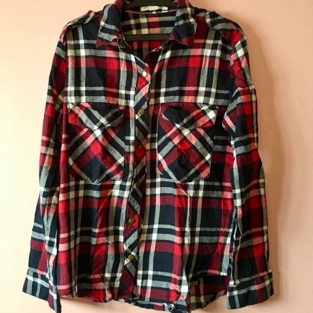 Red Checkered Flanel