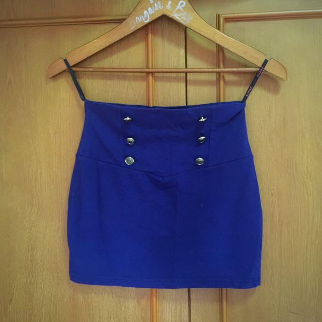 Rok Mini Skirt Navy
