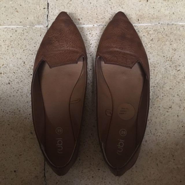 Rubi Brown Flastshoes