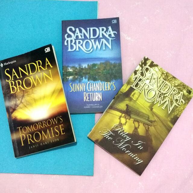 SANDRA BROWN Harlequin Novels / SALE / SUPERSALE