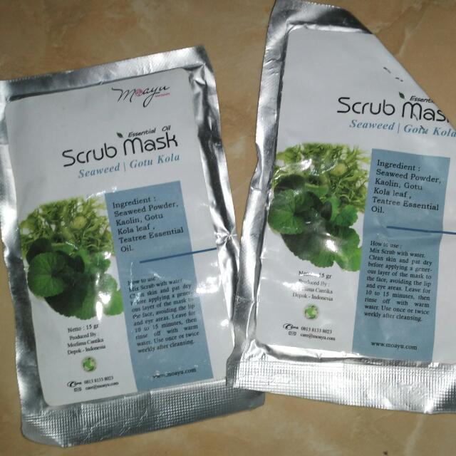 Scrub Mask Seaweed Moayu
