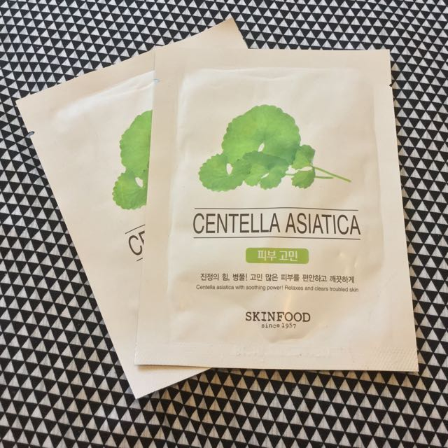 Skinfood Centella Asiatica Sheet Masks
