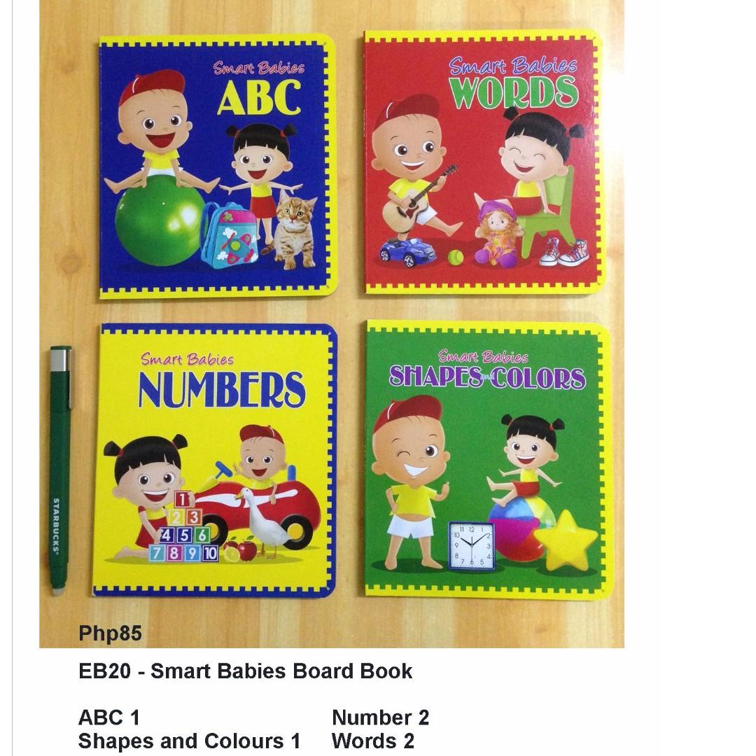 Smart Babies Board Book