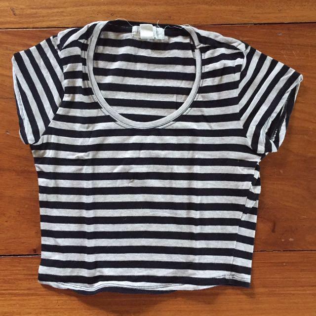 Striped Forever 21 Shirt