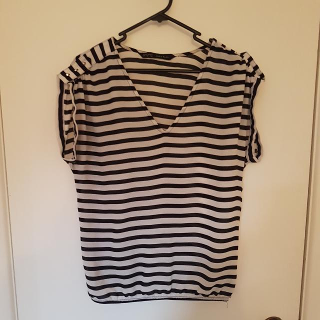 Striped Zara Top