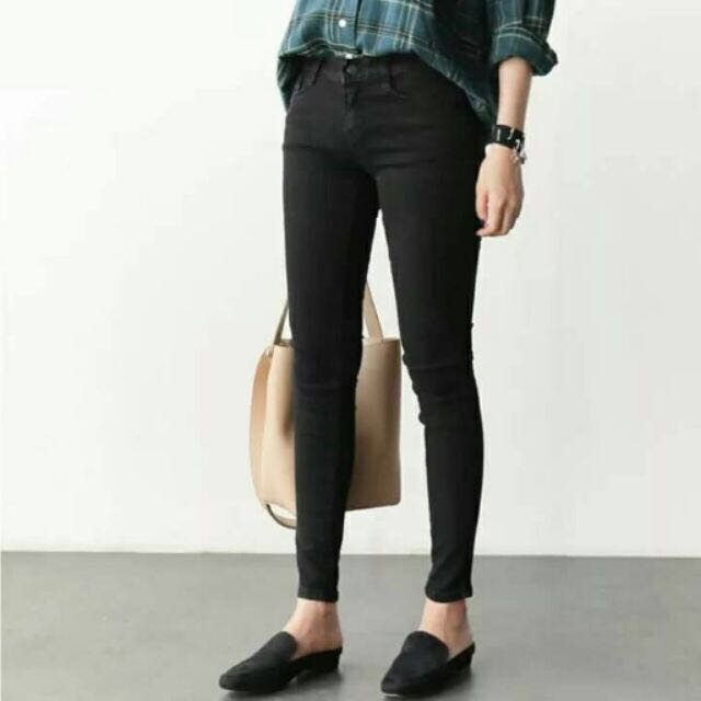 Super Skinny Black Pants