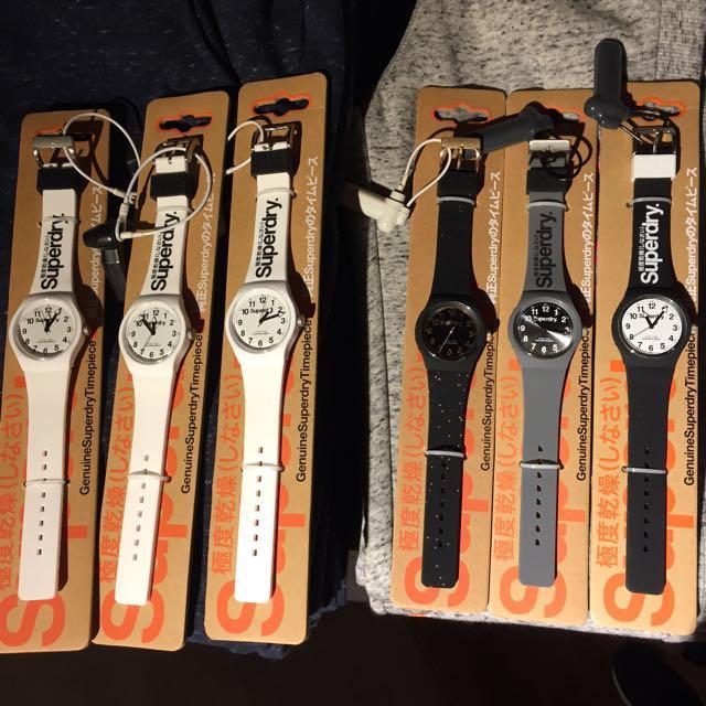 🇬🇧全新現貨Superdry手錶