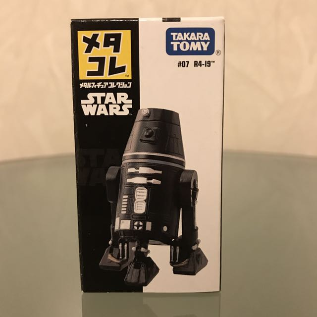 STAR WARS METAL FIGURE COLLECTION MetaColle No.07 R4-I9 Figure TAKARA NEW TOMY
