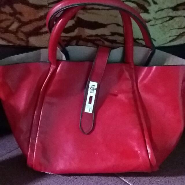 Tas Fashion Red