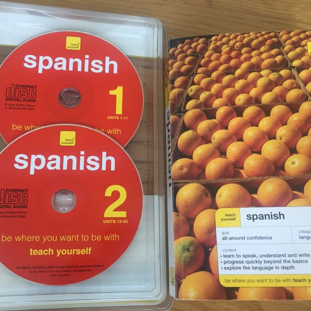 Teach yourself SPANISH with Audio CD