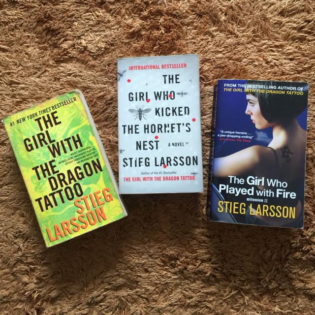The Girl with Dragon Tattoo series (book 1-3)