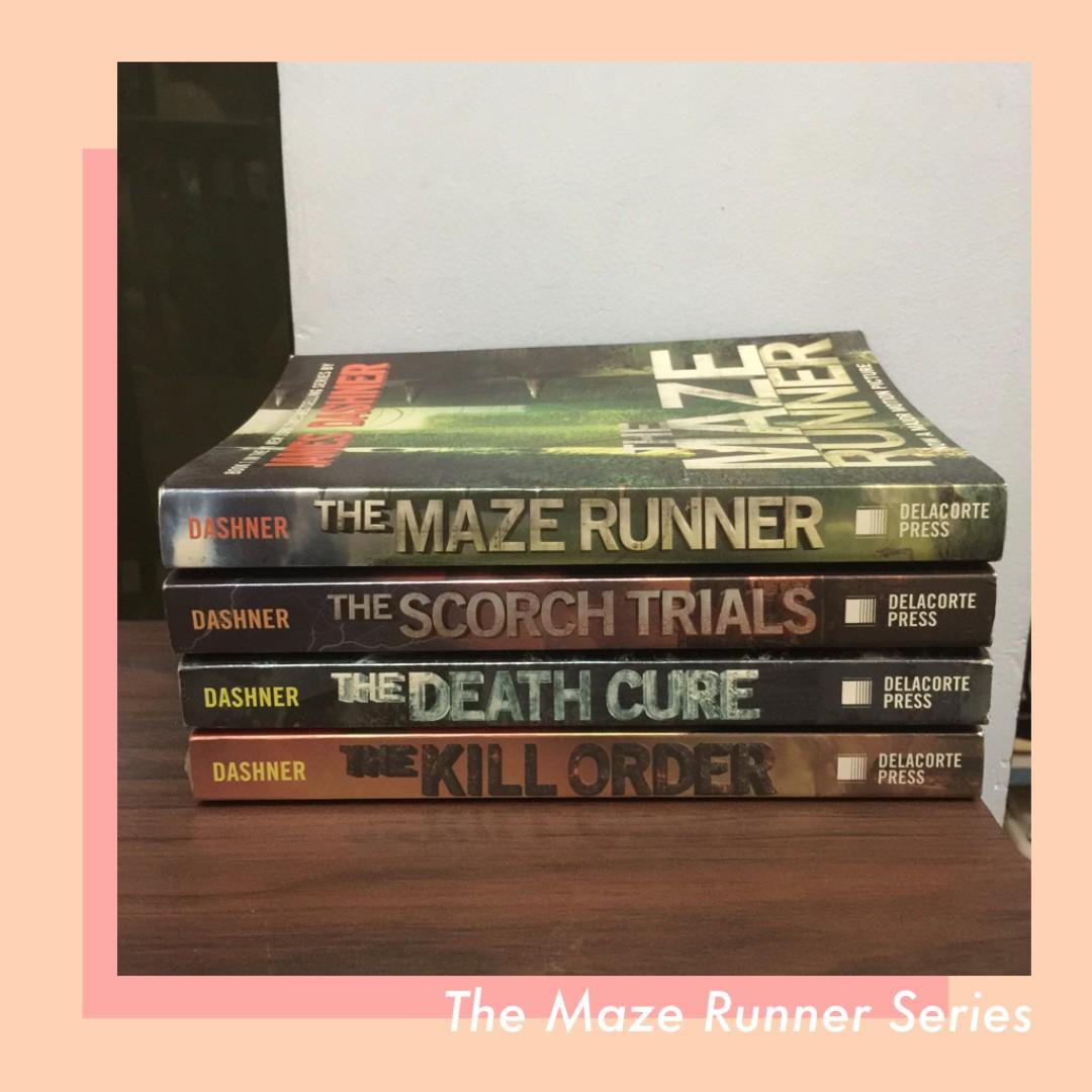 ❗️REPRICED❗️The Maze Runner Series