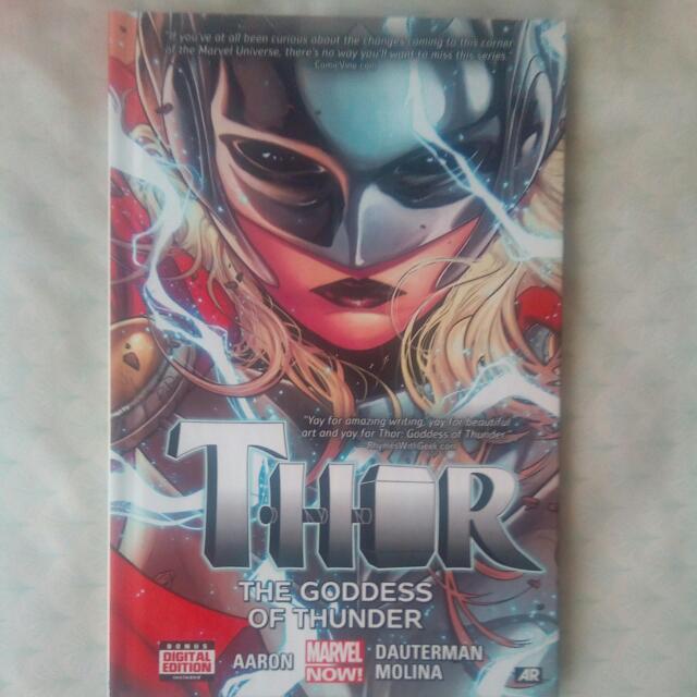 Thor Goddess Of Thunder