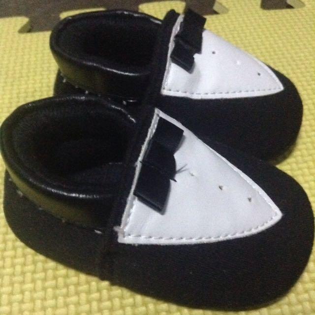 Tuxedo Baby Shoes