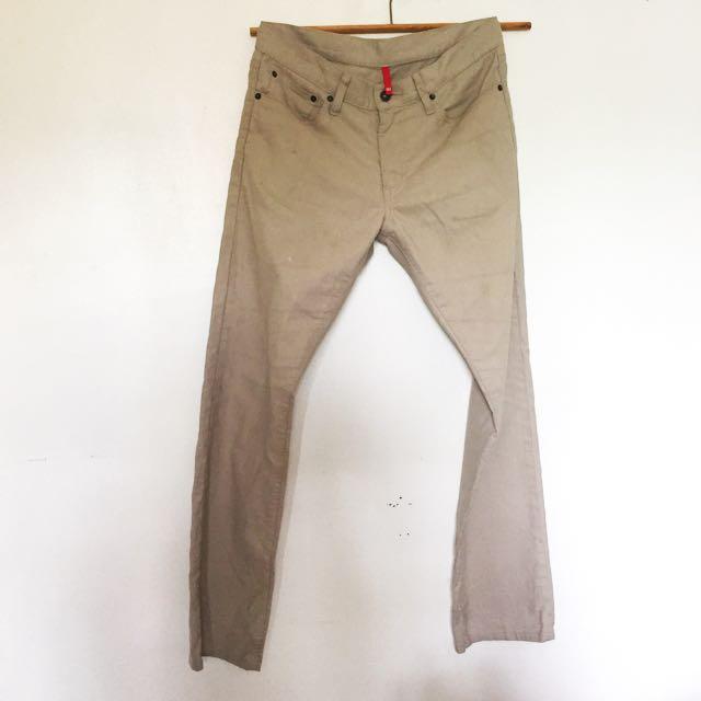 Uniqlo Khaki Chino Pants