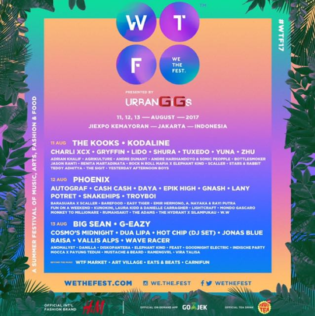 We The Fest Wtf 3 day Pass - ga