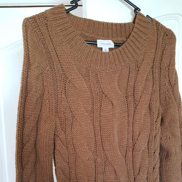 Witchery Wool Blend Dress - Size XS