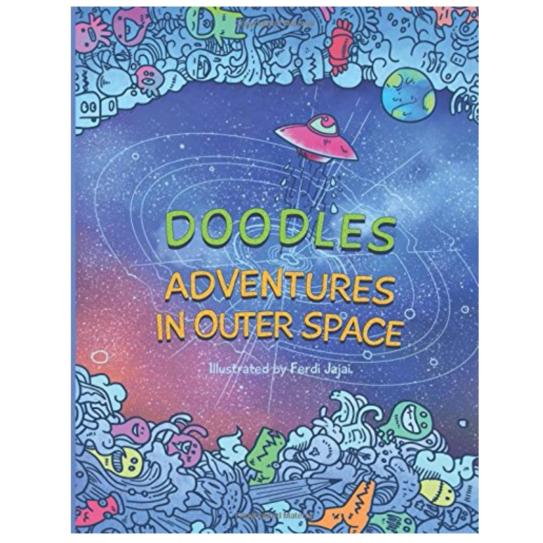 WTS Doodles Adventures In Outer Space Find Inner Peace On An