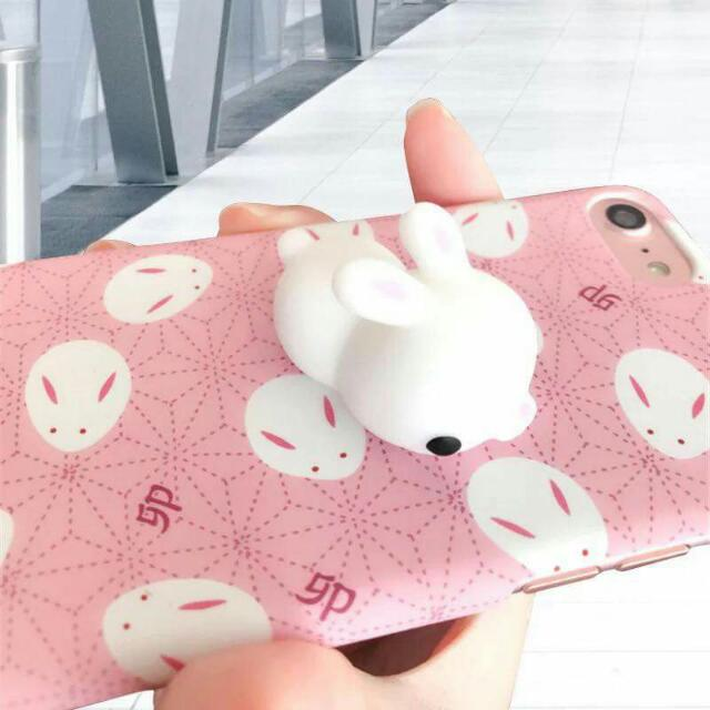 You like this ?  Squishy with case 😍  For iPhone 6/6s / 6plush / 6splush / 7/ 7Plush / oppo f1 s