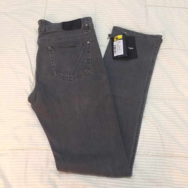 Zegna Grey Jeans Slim Fit