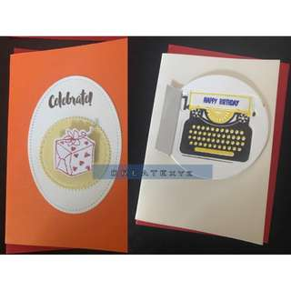 HANDMADE Birthday Anniversary Get Well All Occasions CARDS