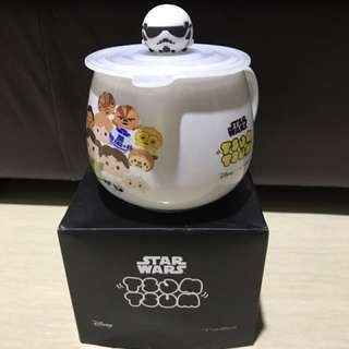 NEW Starwars Tsum tsum Mug White