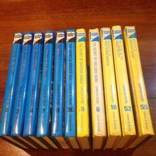 Nancy Drew and Hardy Boys 11 Volume Set