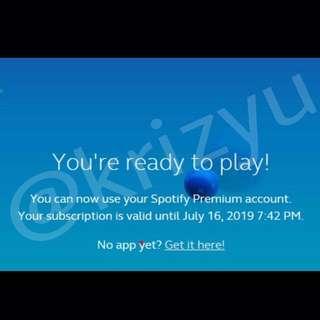 2yrs Premium Spotify With 1yr Warranty