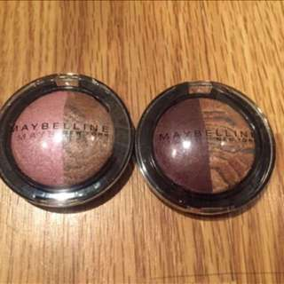 Maybelline Glitter Eyeshadows