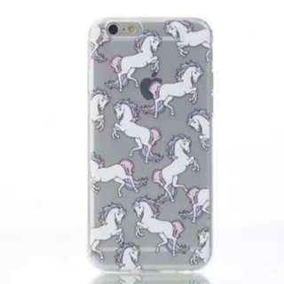iPhone 7 Unicorn White Horse Phone Case