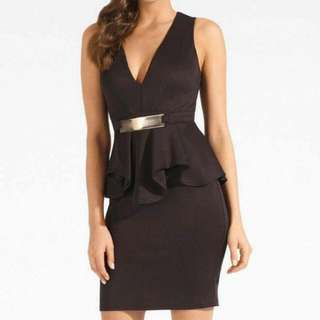Carrie Peplum Dress