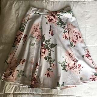 Medium Floral Skirt