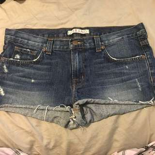 J brand Denim Shorts Size 28
