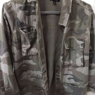 Camo Jacket - Top Shop US 4