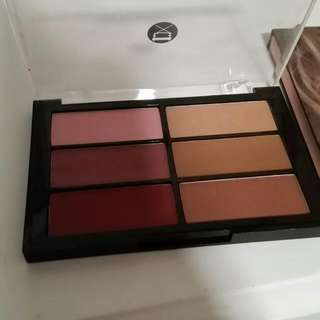 Viseart Blush And Bronze Palette In Plum