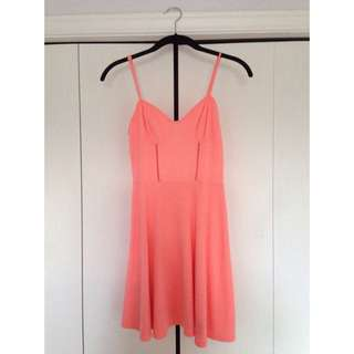BCBG Orange Summer Dress