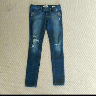 Hollister size 3R Jeans