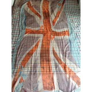 Aldo British Flag Scarf