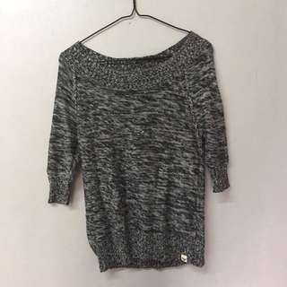 Roxy Knit Off-Shoulder