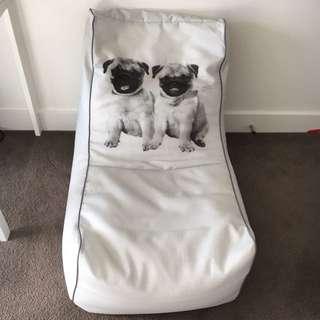 Beanbag With Dog Print