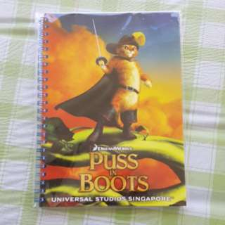 BNIP UNIVERSAL STUDIOS SINGAPORE Note Books For Sale.