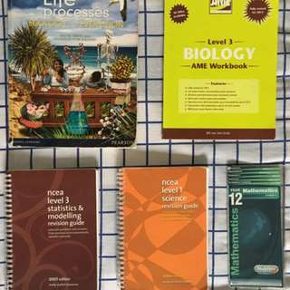 NCEA level 1,2&3 Work/ Revision Books