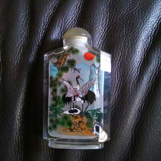 鼻烟葫 Snuff Bottle Collectible With Box