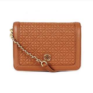Tory Burch Bryant Quilted Stitched Chain Crossbody Bag